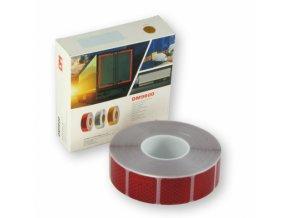 606719 paska reflexni samolepici cervena delena sirka 5 x 5cm metraz 606719 9