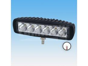 LED PRACOVNÍ SVĚTLOMET - 1260 LUMENŮ, 9-33V + 0,35 M KABEL